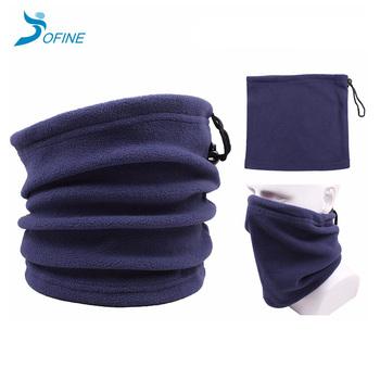 Encargo al por mayor caliente del invierno unisex poliéster micro polar  fleece snood multifuncional térmica ropa fbeaf2e2136