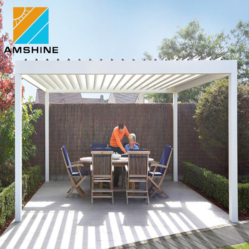 High Quality Free Standing Waterproof Aluminum Louvered Roof System  Bioclimatic Pergola Kits - Buy Pergola Kits,Louvered Roof Pergola  Kits,Bioclimatic