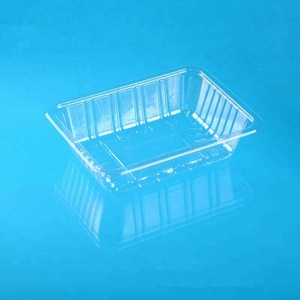Wholesale Food Grade PET Blister Disposable Plastic Box For Fruit Clear Fruit Packaging Plastic Tray