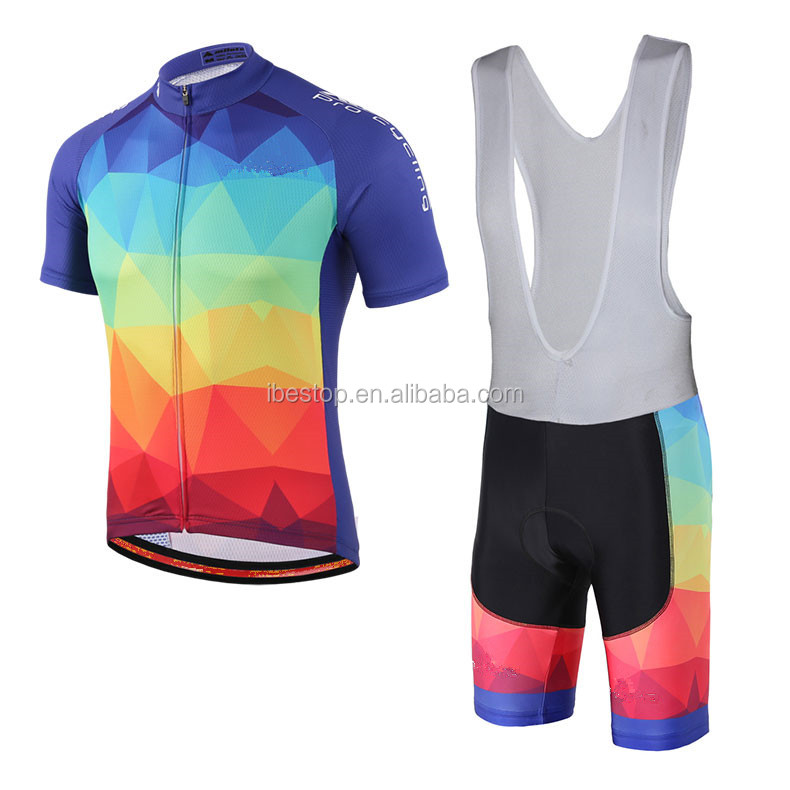 Cycling Apparel Suit High End Fabric Pro Team Cycling Wear Cycle Jersey Oem  Custom 4d1dad864