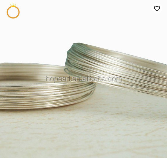 SSK04 Jewelry Making Wire DIY 925 Sterling Silver Round Soft Wire