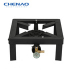 Single cast Iron cheap angle Gas burner outdoor