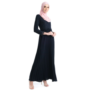 Muslim Women 2019 Latest Style Leaf Jalabiya Designs Abaya
