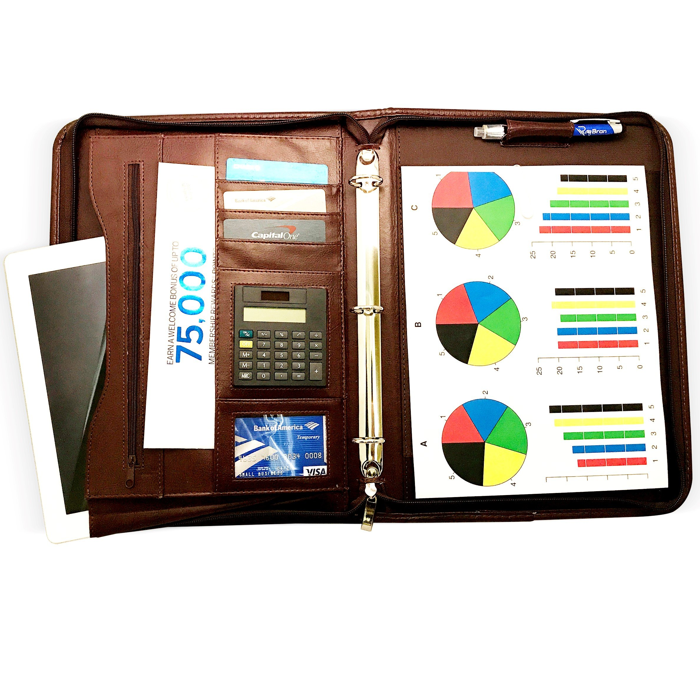fbbe3665bc0b Cheap 3 Ring Portfolio Leather, find 3 Ring Portfolio Leather deals ...
