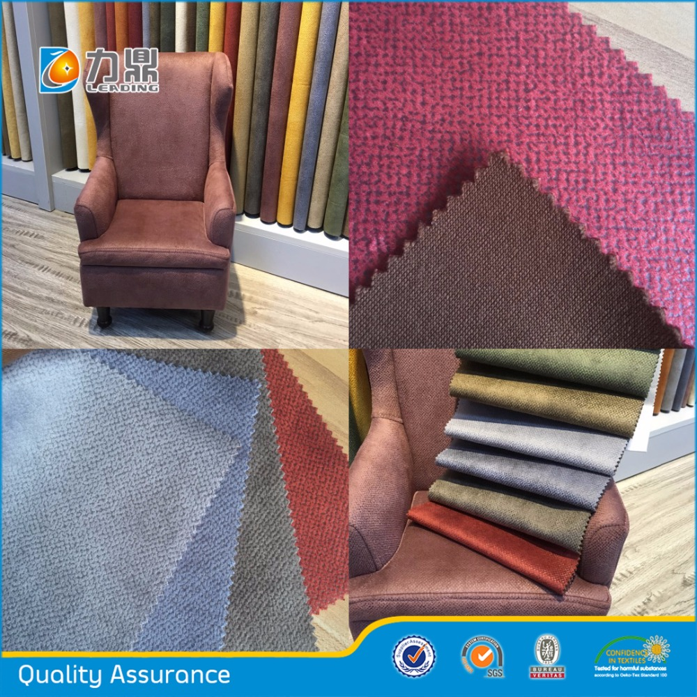 Various Kinds of Polyester Bronzing Upholstery Fabric for Sofa