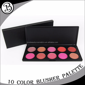 Wholesale natural makeup blusher 10 color OEM blusher makeup