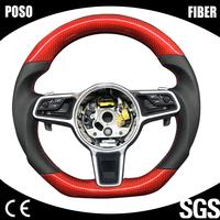 Carbon fiber steering wheel for Porche Cayenne