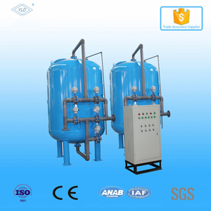 Multimedia sand filter/ carbon filter to remove organic compounds chlorine from water