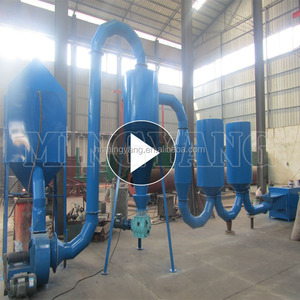 Hot airflow type energy saving wood dryer for charcoal briquette machine drying wood sawdust on promotion