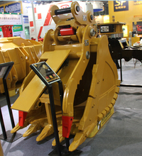 SF hydraulic thumb fit for 20T excavator working with excavator bucket