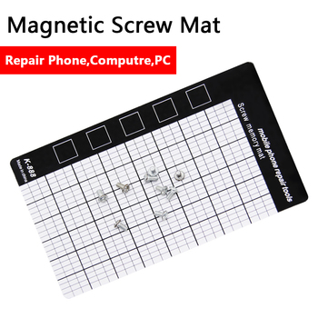 China Supply Tablet Plam Size Memory Chart Work Pad Universal Screw Mat Easy for All Mobile Phone Repairs