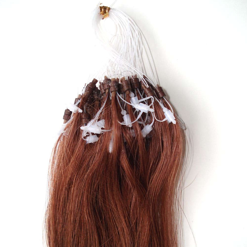 Double Beads Micro Ring Hair Extensions Double Beads Micro Ring