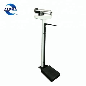 Adult Double Ruler Body Weighting Scale