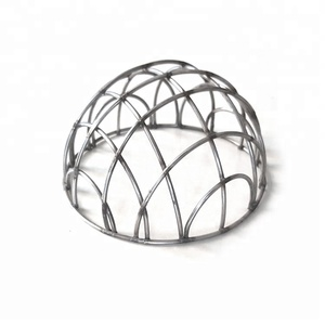 Hot sale stainless steel wired mesh fruit and veg basket