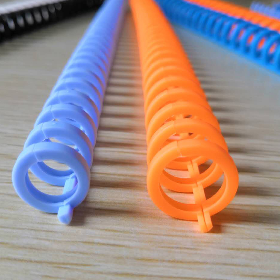 binding plastic ring for loose leaf of notebook folder diary