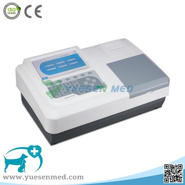 YSTE-M03V Cheap portable elisa microplate reader for vet