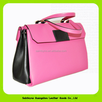 14008 Best selling fashionable genuine leather handbags for ladies