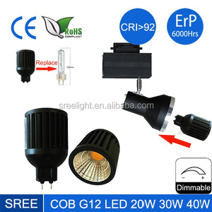5W G12 LED Corn Bulb to Replace 50W G12 Halogen Lamp