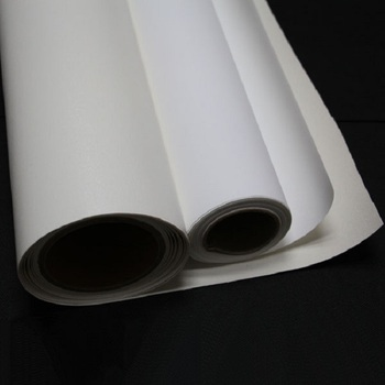 White Solvent Printing Flag Materials Canvas Roll Fabrics Textiles 100% Polyester
