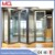 Aluminium low-e glass interior folding doors