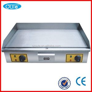 Cast Iron Flat Plate Commercial Electric Griddle