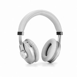 High Quality PB04B 4 in 1 Multi-function Foldable 3.5mm wireless headphone, leather headset for hi-end