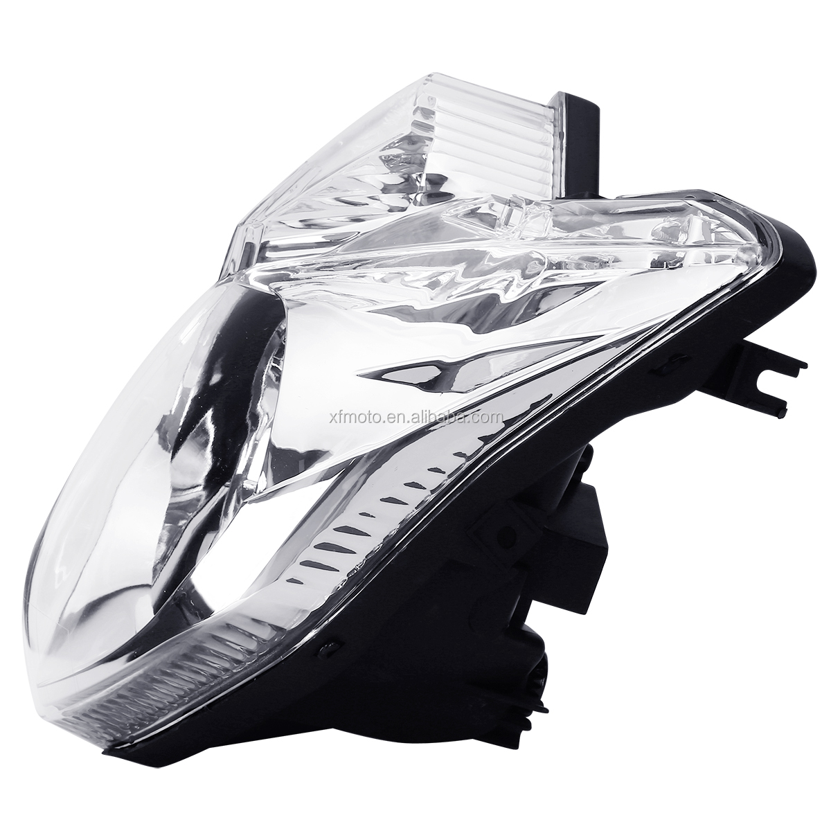 TCMT Manufacturer XF140188 Motorcycle Parts Front Headlight Clear Lens Headlamp Assembly For Yamaha FZ8-N FZ8 2010-2013