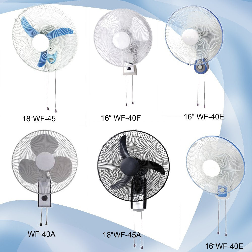 16 Zoll Niedrigen Wandmontage Ventilator Mit Schwingung