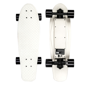 "Hyperboard electric plastic skateboard 28"",all in the deck electric skateboard"