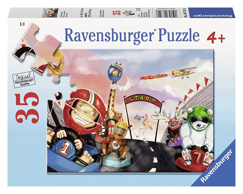 880289c0d1d209 Ravensburger Go Monkey Go! 35 Piece Jigsaw Puzzle for Kids – Every Piece is  Unique