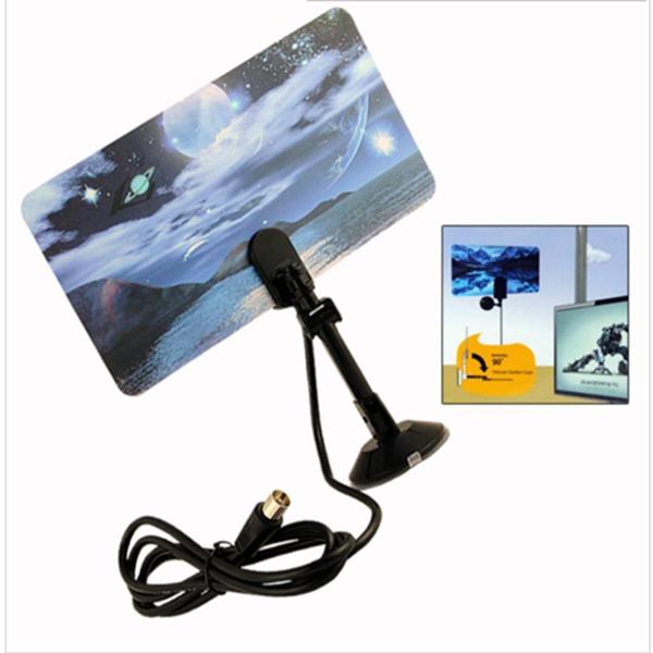 High Gain Indoor TV Antenna receivers /Digital HDTV DTV Box HD VHF UHF TV Antena