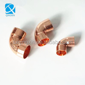 cheap manufacture 90 degree copper pipe elbow/Air conditioner hvac copper pipe fittings