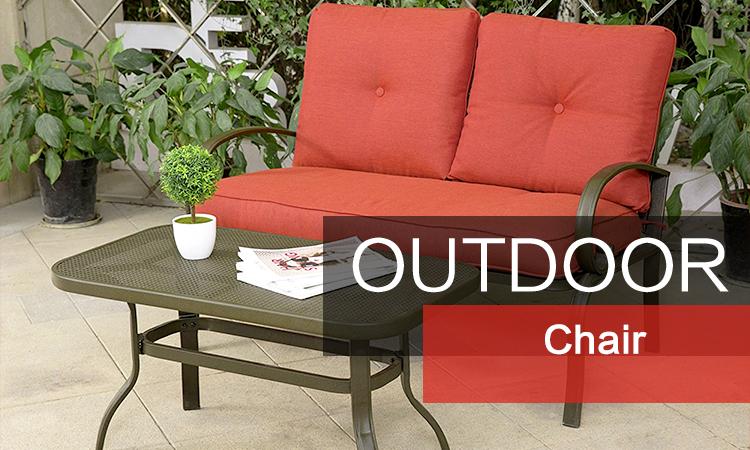 Awe Inspiring 2 Pcs Furniture Set Metal Outdoor Garden Loveseat Bench Sofa Andrewgaddart Wooden Chair Designs For Living Room Andrewgaddartcom