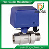 Brass electric ball actuator valve