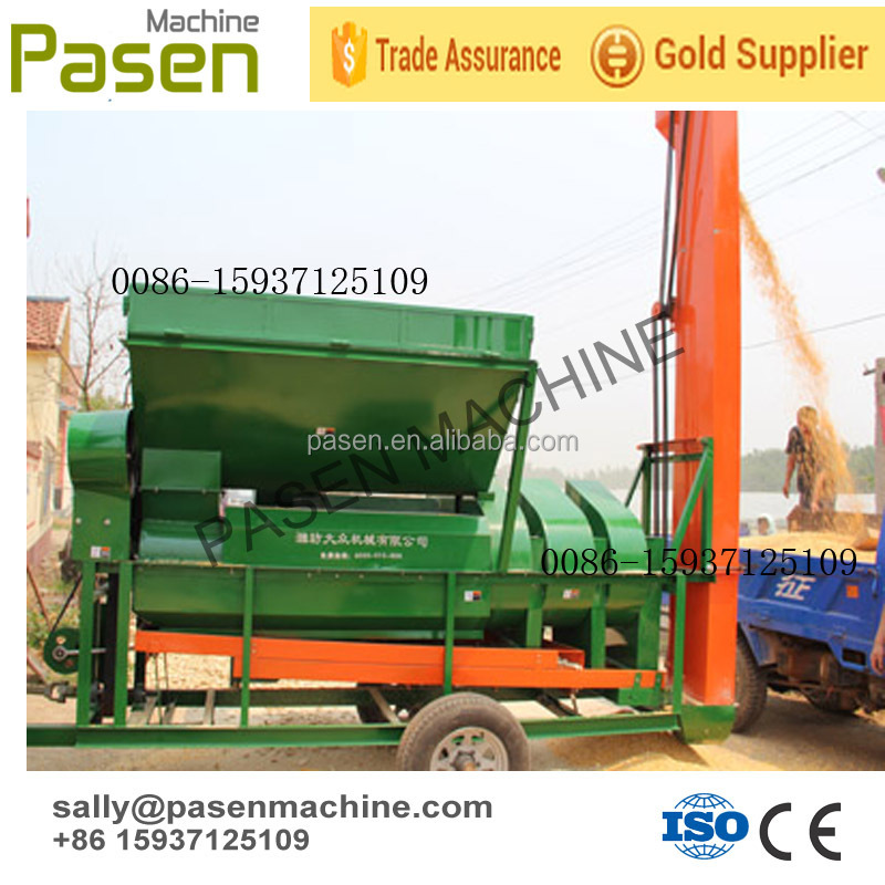 tractor driven high capacity corn maize shelling machine