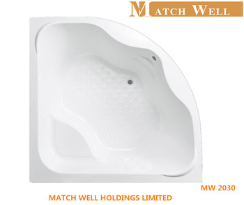Cheap Price High Quality Small Acrylic Corner Bathtub With Seat