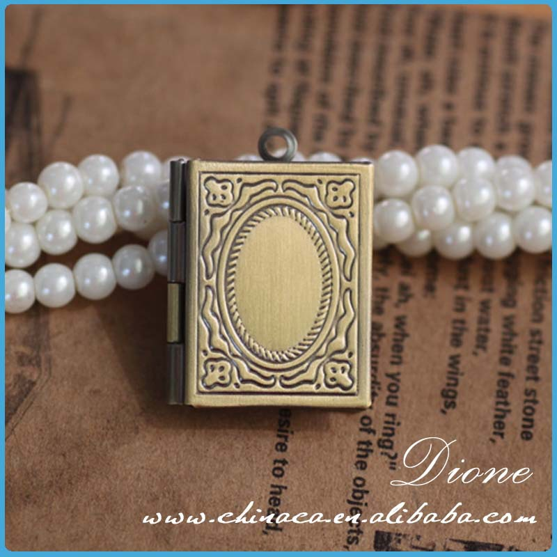 square locket high quality wholesale antique locket
