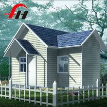 low cost economical light steel structure prefab villa