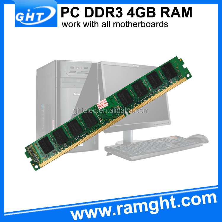 China motherboard best price memory ram ddr 3 4 gb 1333 for desktop
