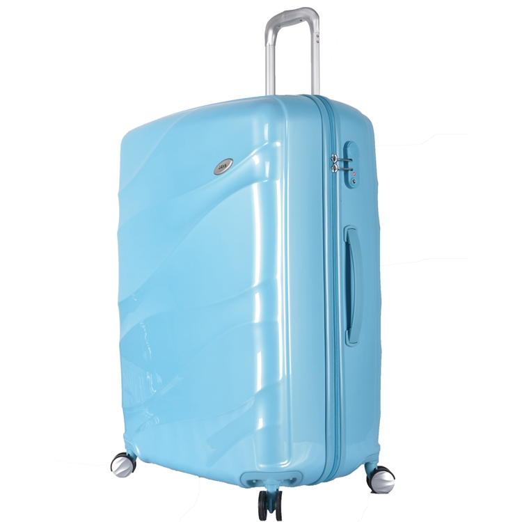 Portable Carry On Case Plastic Cover Luggage Made in China
