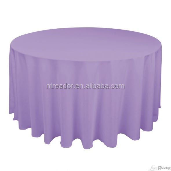 New design polyester table cloth for weddings wholesale tablecloth