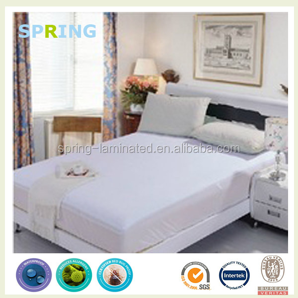 Comfort Quiet Nights Waterproof California king waterbed zippered mattress cover