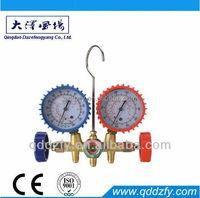Refrigeration pressure gauge r410a for air conditioner