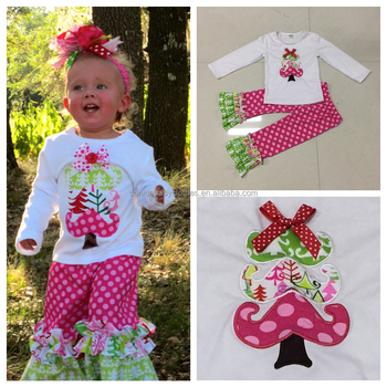 Toddler Christmas Outfit Girl.Wholesale Baby Girl S Cute Tree Cool Style Children Christmas Dress Fall Winter Boutique Outfit Buy Children Clothes Wholesale Clothes Wholesale