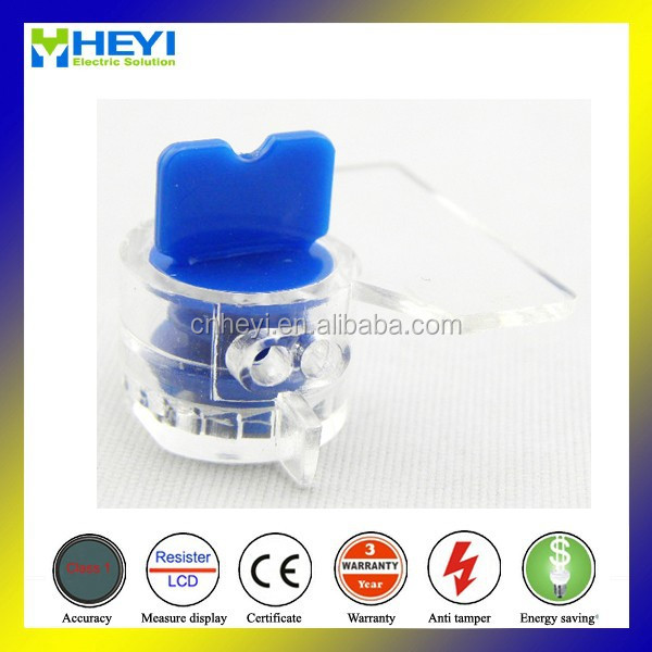 XHM-006 electrical meter lock for meter seal poly carbonate