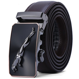 2019 latest designs European fashion classic western classic British gift box men genuine leather belts