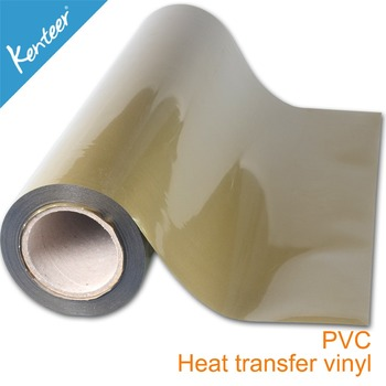 Kenteer T-shirt Heat Pet Film Pvc Clear Sheet Glitter Vinyl ...