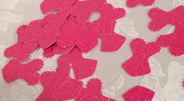 68dee7fa0cd Get Quotations · 100 Glitter Corset Confetti Table Decor