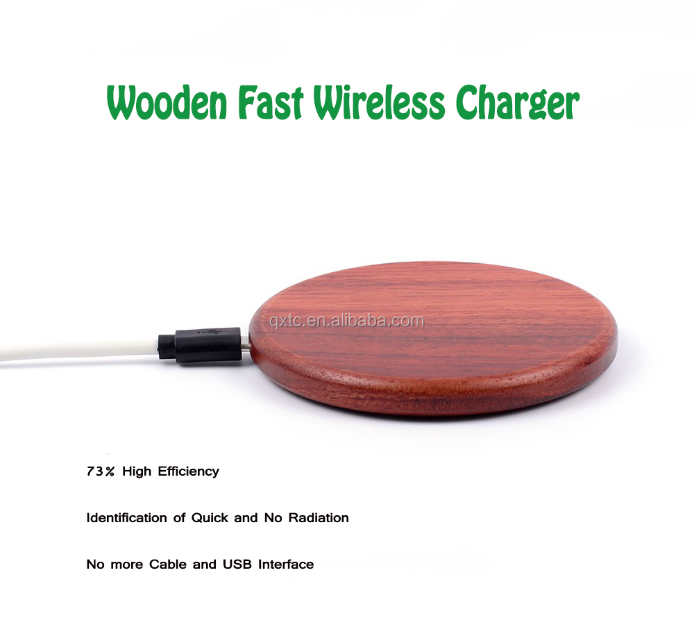 AAA Quality Fast Charging Qi Wireless Charger For Samsung S7 , For Iphone Charge Wireless
