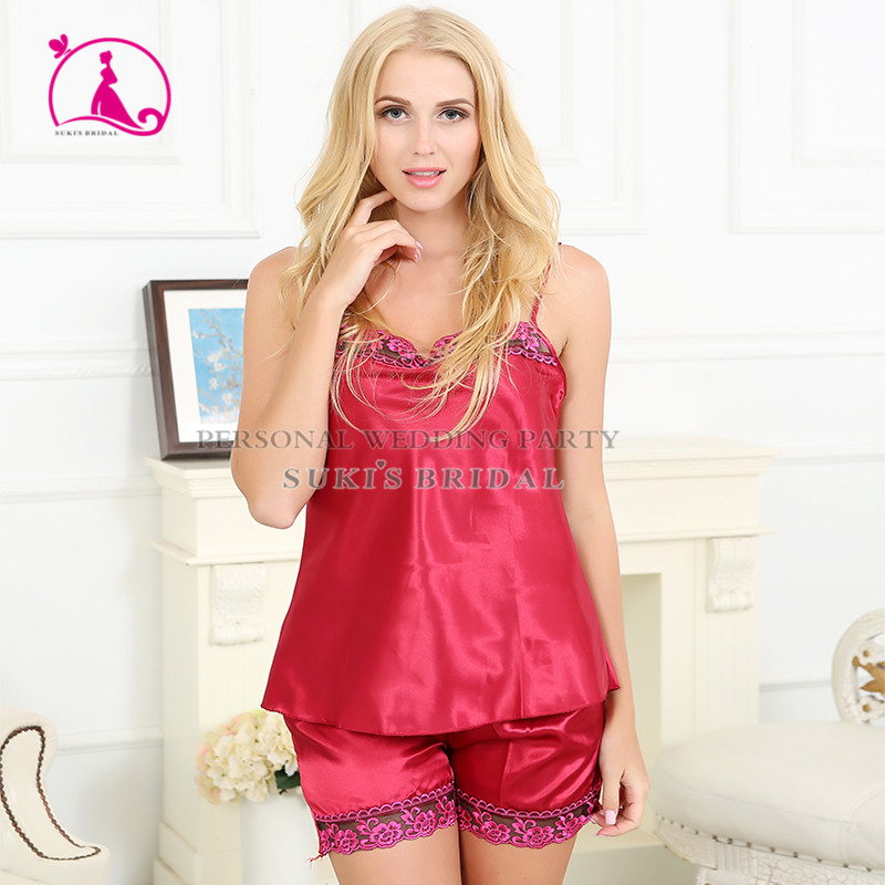 Womens sleepwear robes Sexy Suspenders robes short trousers